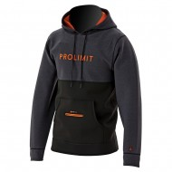 Veste néoprène Prolimit Loosefit Hoodie Black/Orange