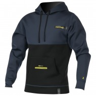 Veste néoprène Prolimit Loosefit Hoodie Black/Yellow