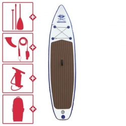 """Pack SUP gonflable Surfpistols ISup Yacht  10'6"""" de 2021"""