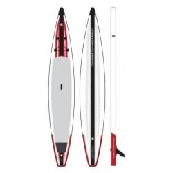 SUP gonflable Surfpistols Performance Race 14' de 2021