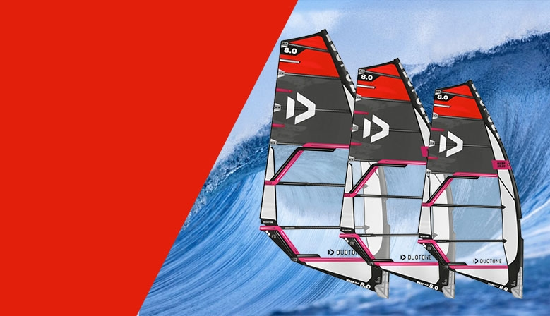 Windsurf voile Duotone Warp 2020 Promo
